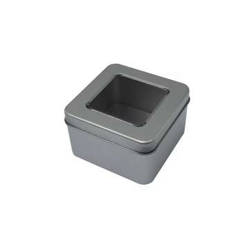 Жестяная коробочка 9х9х5,5 см