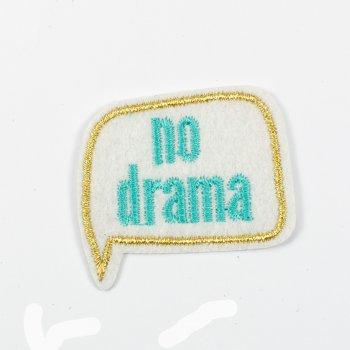 Тканевая нашивка No drama