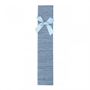 Коробочка картонная подарочная прямоугольная с бантом