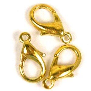 Карабін, золото, 14 мм