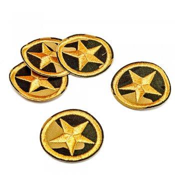 Тканинна нашивка Військова зірка