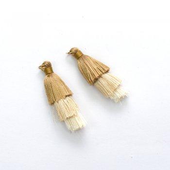Текстильні китиці бежеві