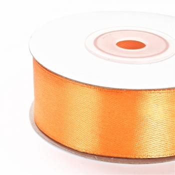 Стрічка атласна 25 мм помаранчева