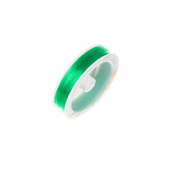 Резинка силиконовая толстая, зеленая, 0.8мм