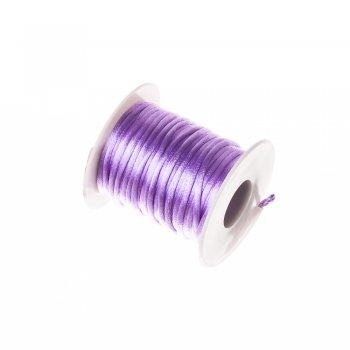 Шнур фиолетовый полиэстеровый 3 мм