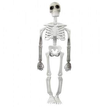 Елемент декору скелет пластиковий 310 мм