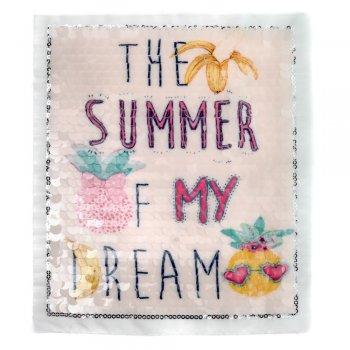"Тканинна нашивка ""The Summer of My Dream"""