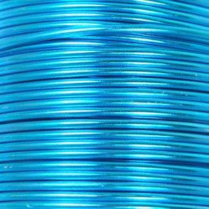 Алюмінієвий дріт  1.5mm, блакитний