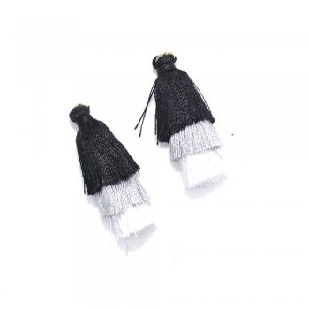 Текстильные кисточки черные