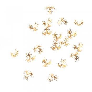 Обниматели золото 15 мм