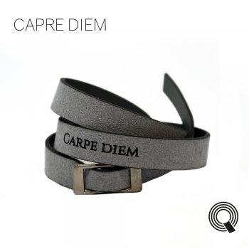 """Браслети квоутлети """"Carpe diem"""", темно-сірий"""