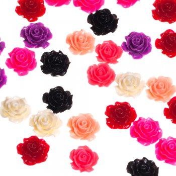Пластиковая подвеска роза