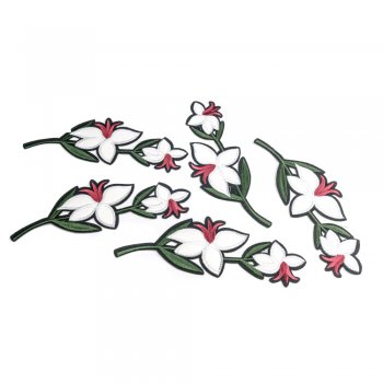Нашивка Белый цветок