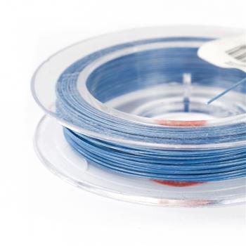 Волосінь біжутерна. Синій. Діаметр 0,38 мм