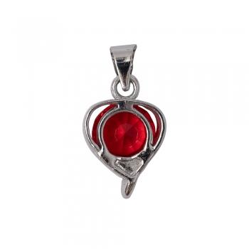 Кулон металевий Серце