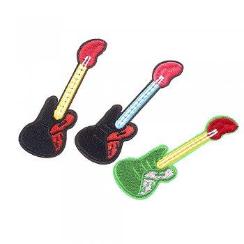 Тканевая нашивка Гитара