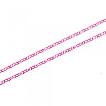 Цепь цветная мелкая панцирная 2х3х0,5 мм