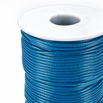 Плетений шнур темно-синій синтетика 2 мм