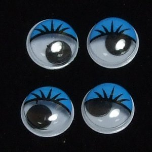 Пластиковые глазки уп 6 шт