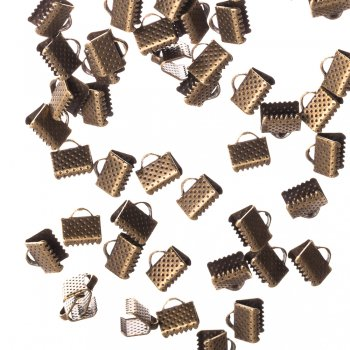 Зажимы для лент бронза 8 мм