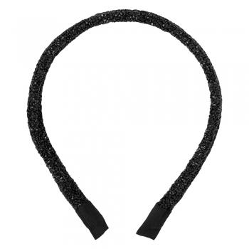 Обруч для волосся чорний