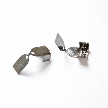 Зажимы для основ тёмно-стальной 10 мм