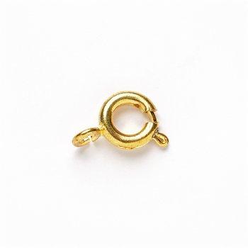 Карабін круглий золотий, діаметр 6 мм
