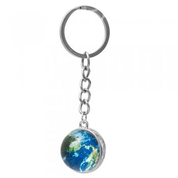 Брелок для ключів скляний Планета