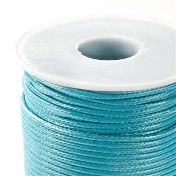 Плетений шнур аквамариновий синтетика 2 мм