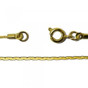 Цепь под золото с застежкой  калибр 1мм