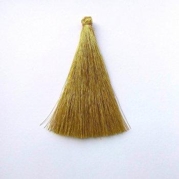 Текстильні китиці золотисті