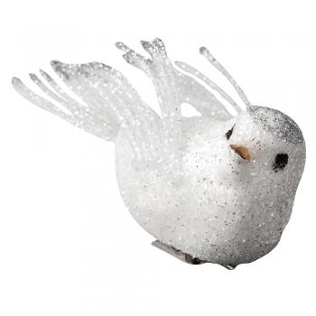 Декоративный элемент птица белая