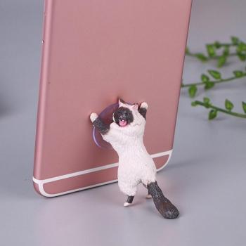 Держатель для телефона Кошачья поддержка Кот сиамский