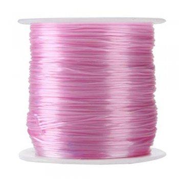 Шнур полиэстеровый 2 мм розовый