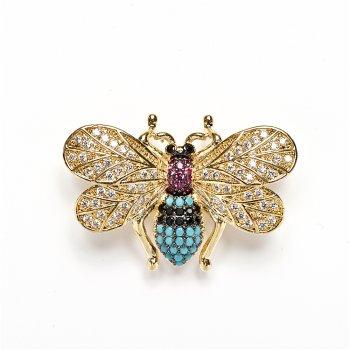 Соединительный элемент, переходник Lux насекомое с золотыми крыльями