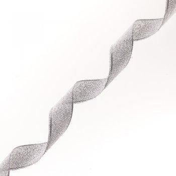 Лента люрексовая серебристый, 2 см