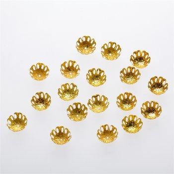 Обіймач золотий круг 15 мм