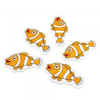 Тканинна нашивка Риба-клоун