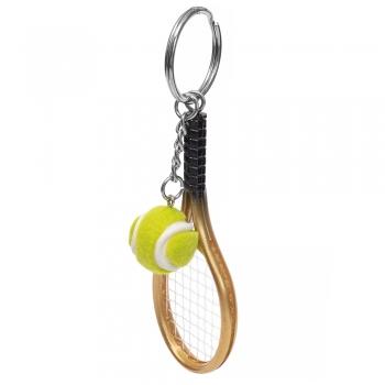 Пластикова підвіска Тенісна ракетка і м'яч