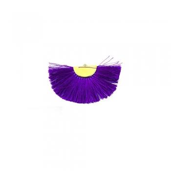 Китиця текстильна фіолетова