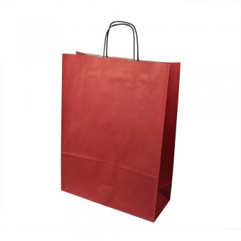 Пакет картонний 240х110х320 червоний