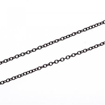 Ланцюг чорний дрібний якірний 3х4х0,8 мм