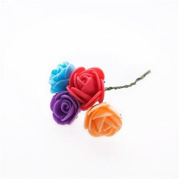 Букет роз, искусственные цветы, 100 мм