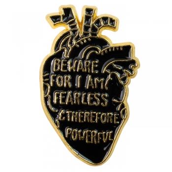 Значок пін Серце