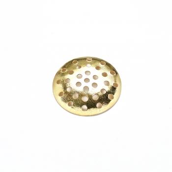Решетчатые основы для брошей, золото, 20 мм