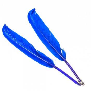 Перья. Синие