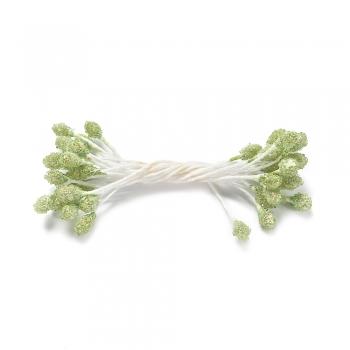 Тычинки 65 мм зеленые