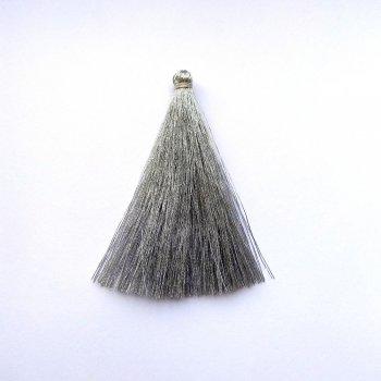 Текстильні китиці сріблясті