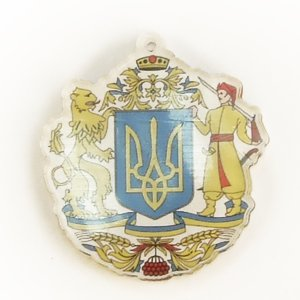 Кулон пластиковий герб