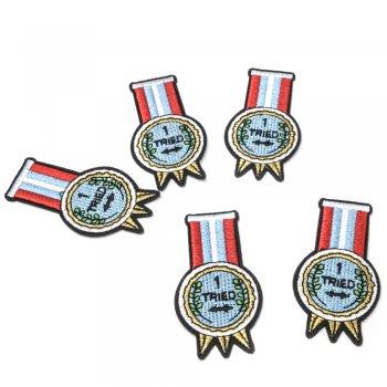 Тканевая нашивка Медаль